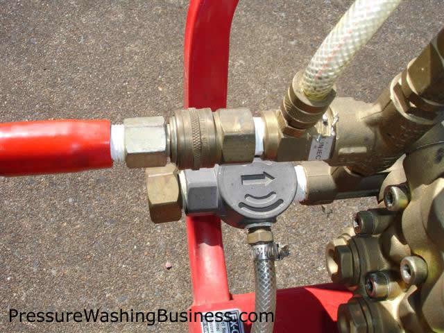 pressure washing parts