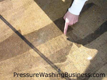pressure washing quality errors